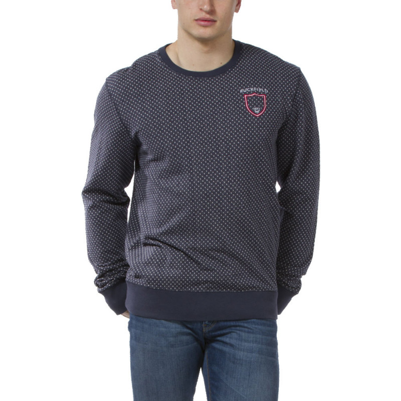 Sweat Jacquard col rond
