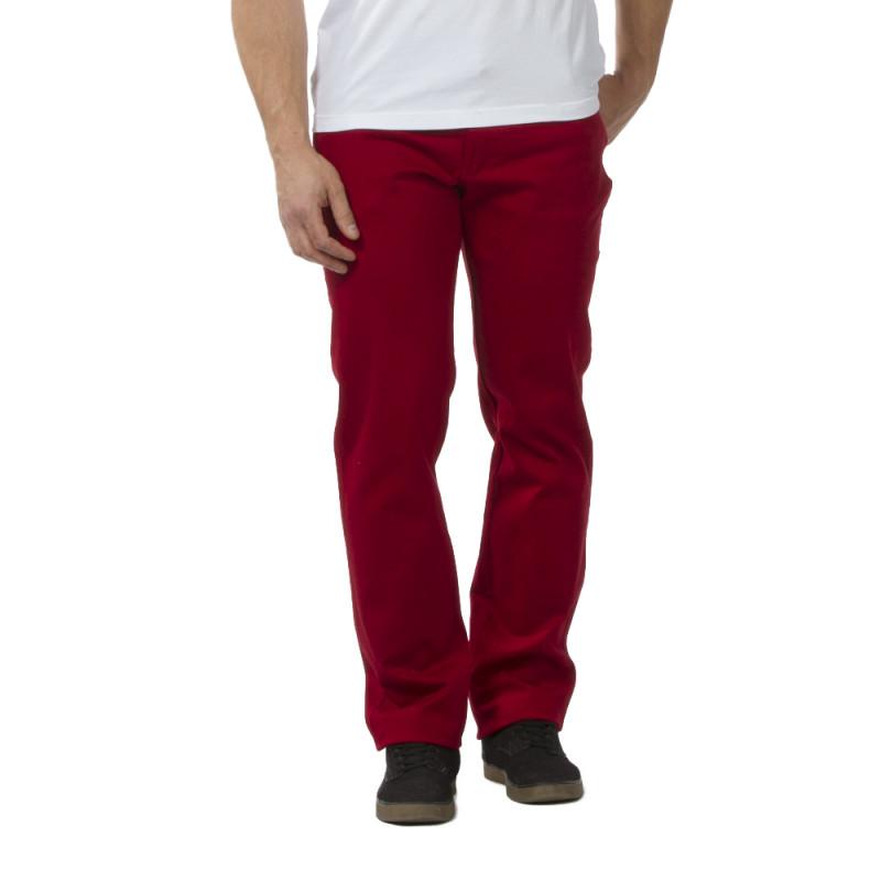Pantalon Regular rouge rugby