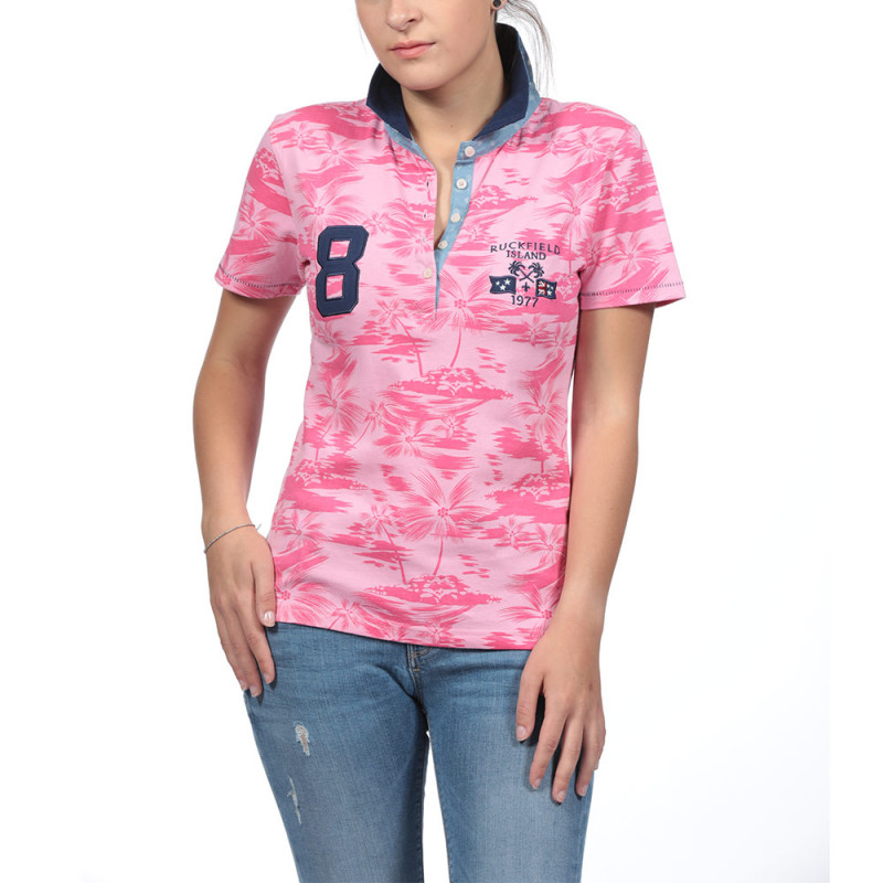 Polo Rugby Femme Ruckfield Island