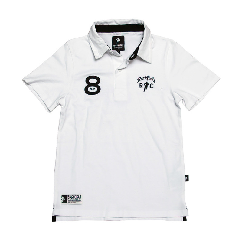 Polo Enfant Le Chabal Blanc