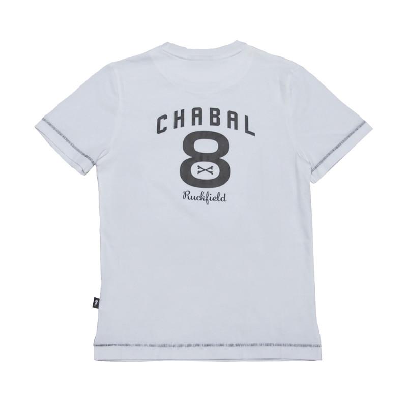 T-shirt Enfant Le Chabal Blanc