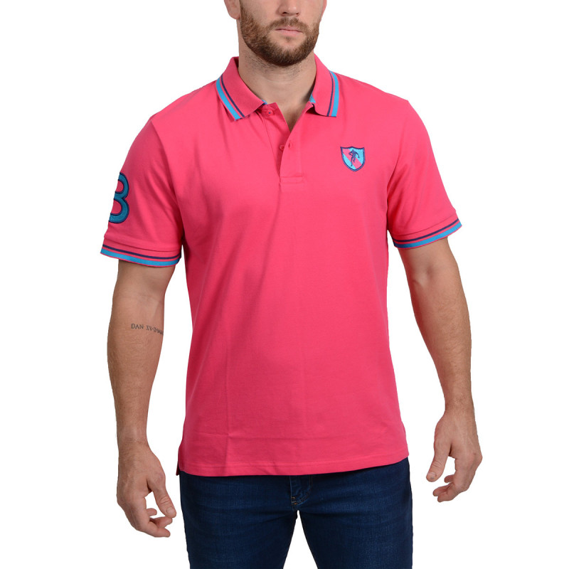 Polo Rugby Essentiel Fuschia