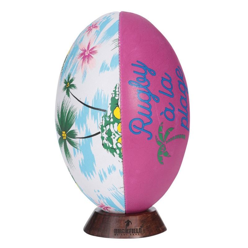 Ballon de Rugby Vacances à la Plage