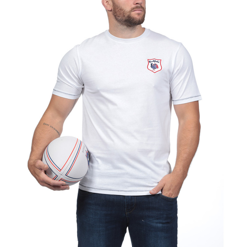 T-shirt Le French Rugby Club Blanc