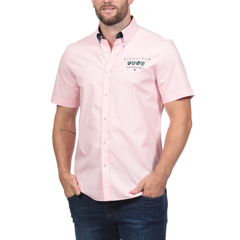 Chemise rose Ruckfield