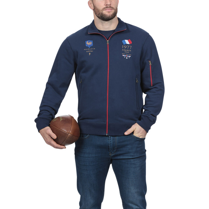Sweat zippé sport France