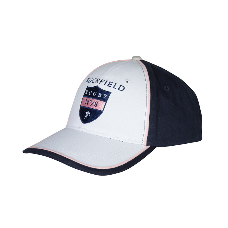 Casquette blanche rugby