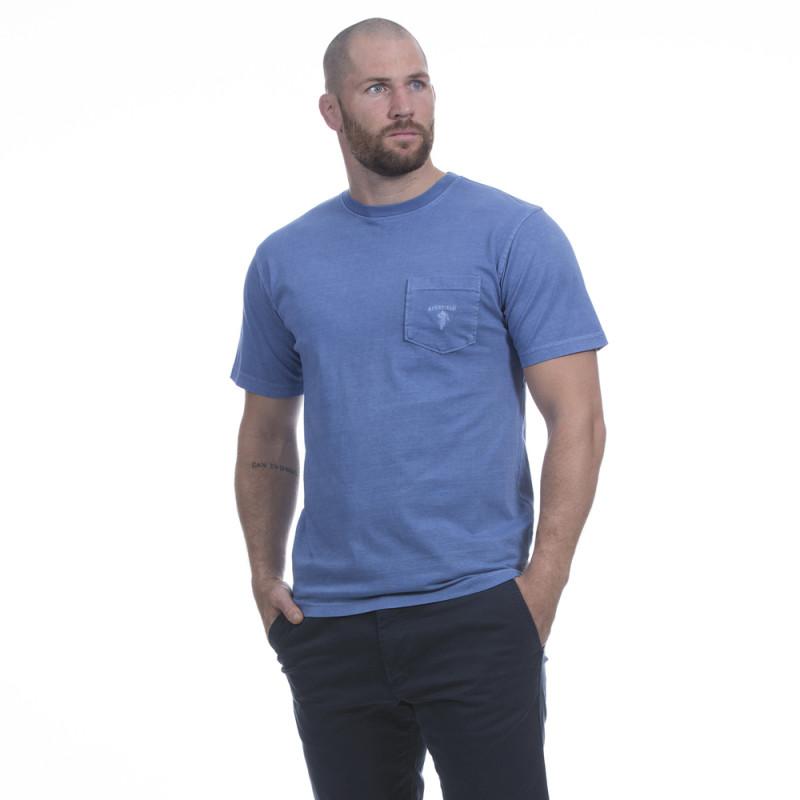 T-shirt homme été bleu