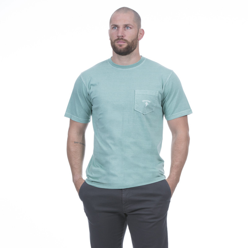 T-shirt homme été vert