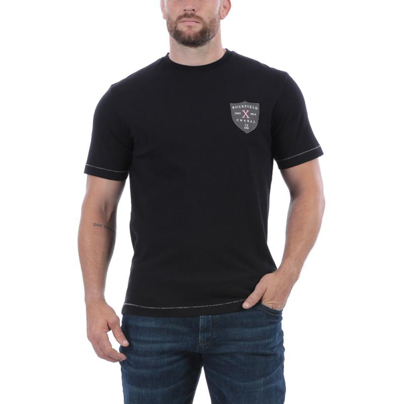 T-shirt rugby noir