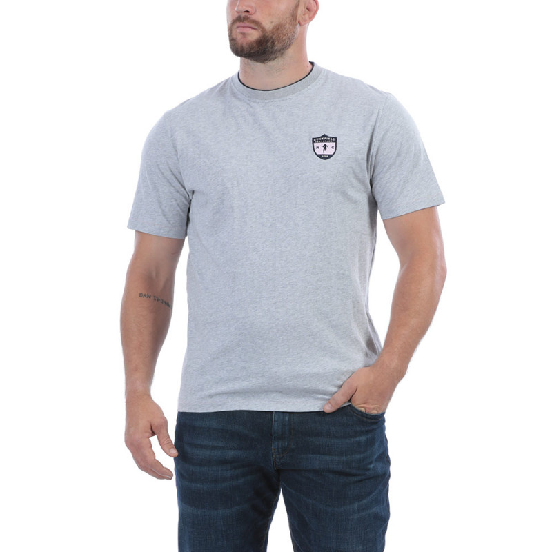 T-shirt gris rugby
