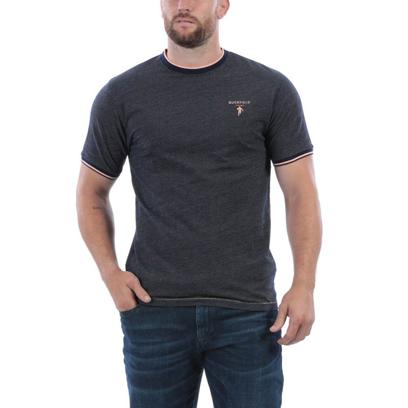 T-shirt indigo rugby