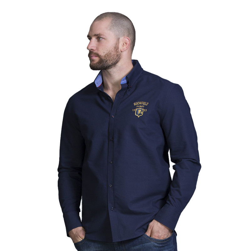 Chemise homme bleu rugby