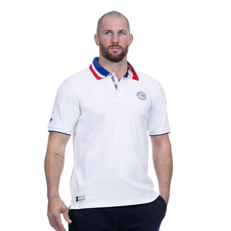 Polo blanc France