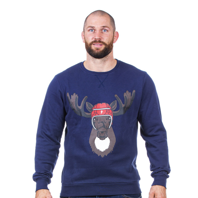 Sweat de Noël marine
