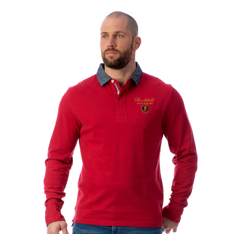 Polo rouge homme French