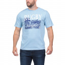 T-Shirt bleu ciel We are Rugby