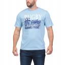 T-Shirt bleu ciel We are Rugby