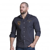 Chemise grise rugby