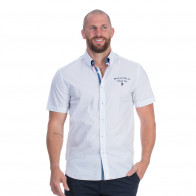 Chemise blanche rugby cup