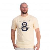 T-shirt jaune maison de rugby
