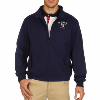 Blouson rugby Ruckfield bleu marine by Sébastien Chabal pour homme.