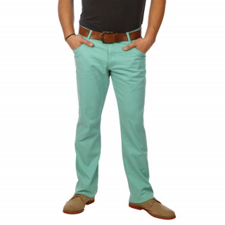 Pantalon rugby Ruckfield vert avec silhouette Chabal pour homme.