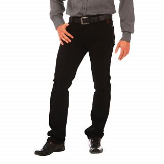 Pantalon Ruckfield 5 poches noir coupe regular. Disponible jusqu'au 56 !!!