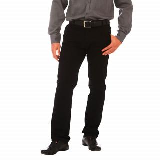 Pantalon chino noir Ruckfield 97% Coton 3% Elasthanne disponible du 38 au 56