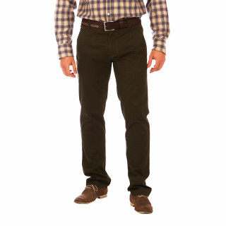Pantalon chino kaki Ruckfield 97% Coton 3% Elasthanne disponible du 38 au 56