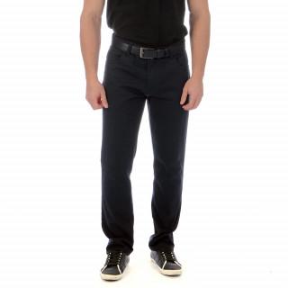 Pantalon Ruckfield noir en coton élasthanne pour plus de confort, coupe regular disponible du 38 au 56 Fr.