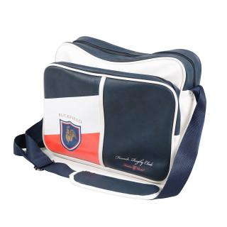 Sac ordinateur bleu marine French Rugby Club avec écusson tricolore
