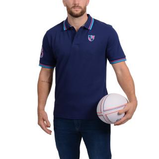 Polo manches courtes Rugby Essentiel bleu marine