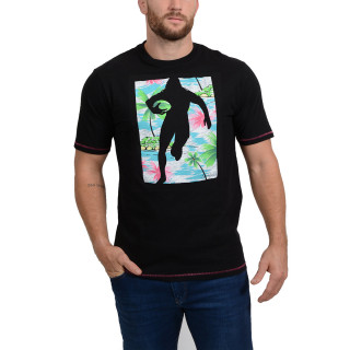 T-shirt imprimé Chabal Island noir