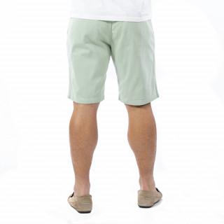 Bermuda chino vert clair