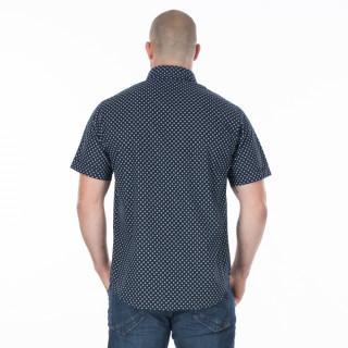 Chemise d'été homme bleu moyen