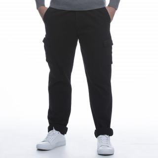 Pantalon avec poches cargo noir