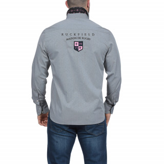 Chemise grise Maison de rugby