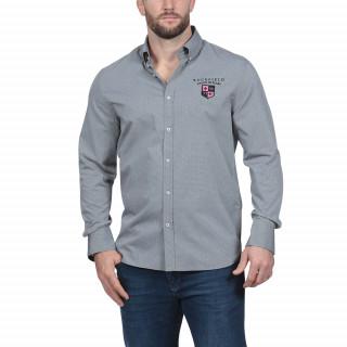 Chemise manches longues grise Maison de Rugby
