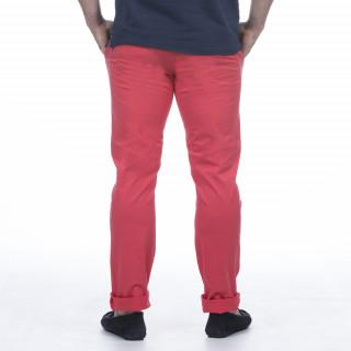 Pantalon chino rouge