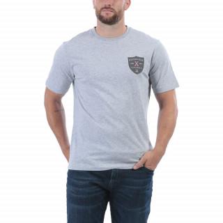 T-shirt manches courtes de rugby gris anniversaire