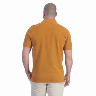 Polo homme rugby moutarde