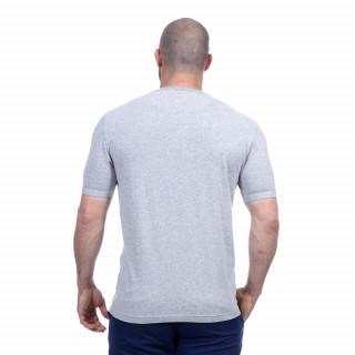 T-shirt gris rugby élégance