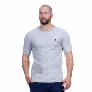 Tee-shirt manches courtes gris du thème Rugby élégance