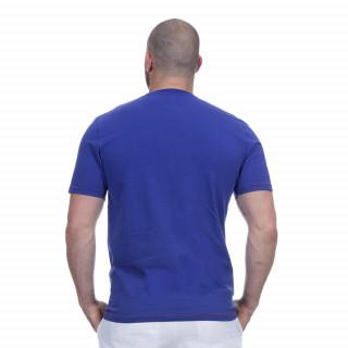 T-shirt bleu rugby marine