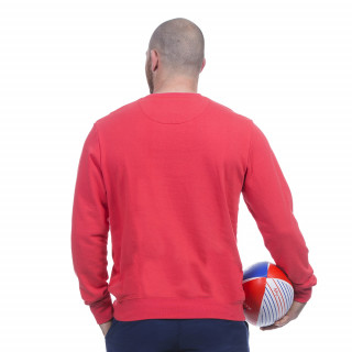 Sweat rouge rugby marine