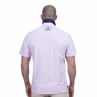 Chemise rose maison de rugby