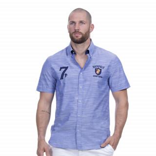 Chemise rugby seven bleu