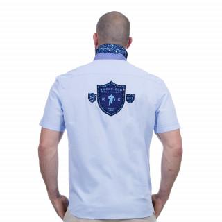 Chemise bleu ciel we are rugby