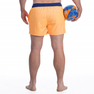 Short de bain rugby seven orange